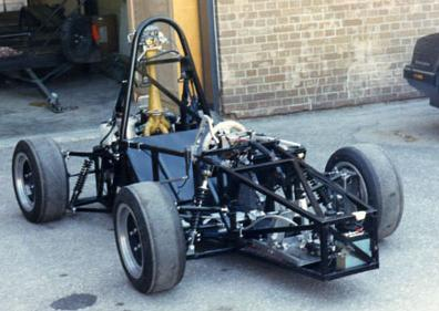 1987 bare chassis ready for first drive