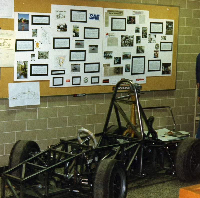 1987 Car on Display