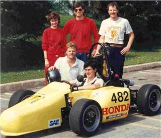 The 1987 UW FSAE Team
