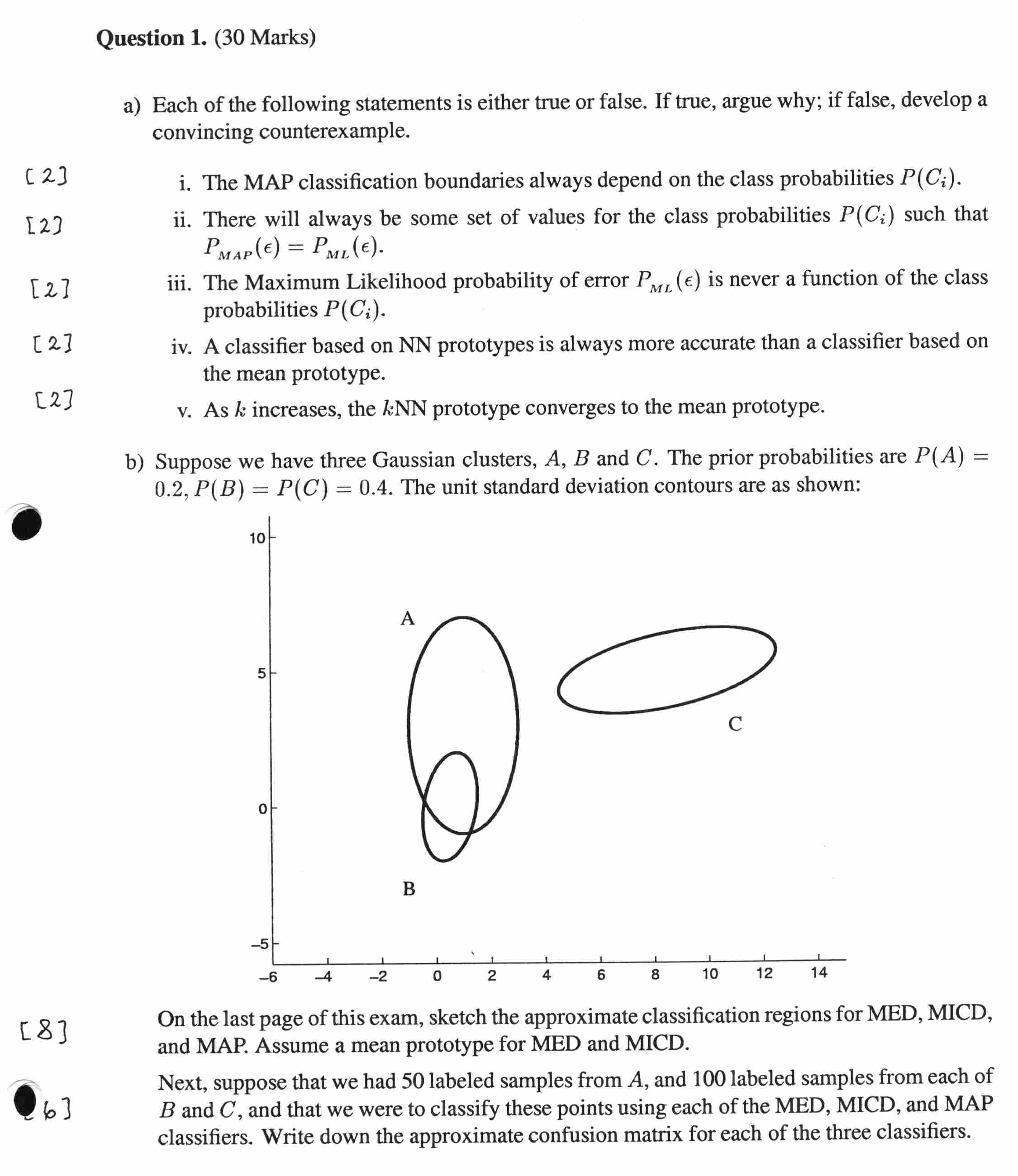 2002 Midterm: Questions Page 1 Questions Page 2 Solutions